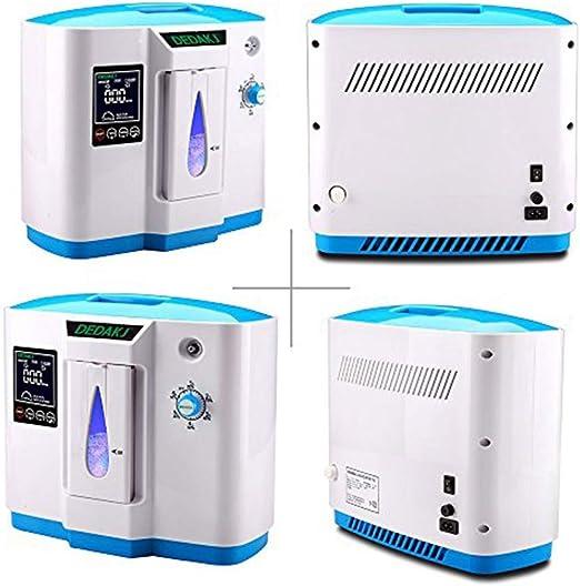 InLoveArts Purificador de aire de 6L Generador de concentrador de ...