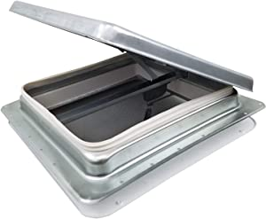 "14"" RV Roof Vent w/Low Profile Metal Lid 75111-C"
