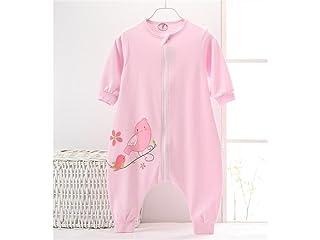 Huertuer Swaddle Blanket Sacco a Pelo con Cerniera per Neonato Sacco a Pelo per Trapunta Anti-calci per 0-24 Mesi Sacco a Pelo