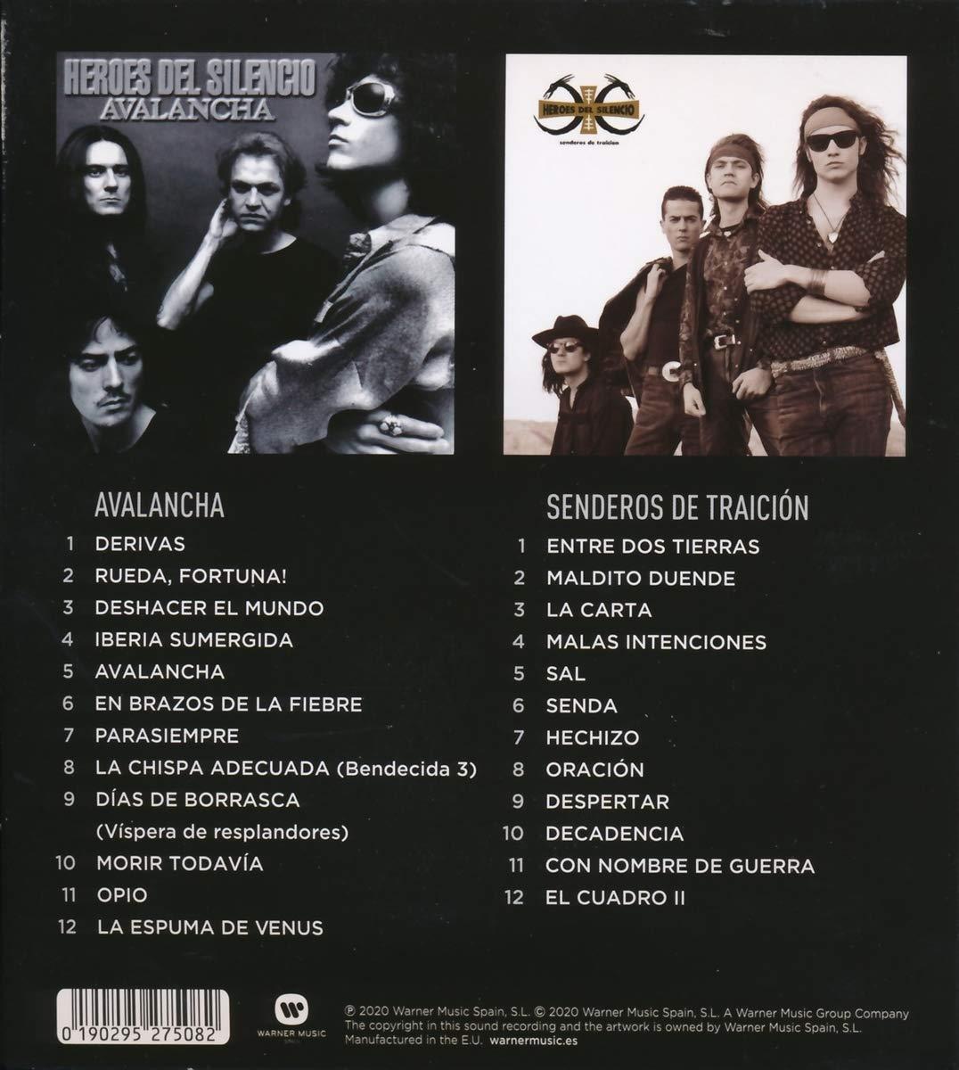 Heroes Del Silencio Héroes Del Silencio Avalancha Senderos De Traicion 2cd Originales Music