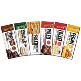 Paleo : Primal : Pegan : Protein Bars (Variety) 12 Bars (2 ea) Low Net Carb (Gluten Free : Keto)