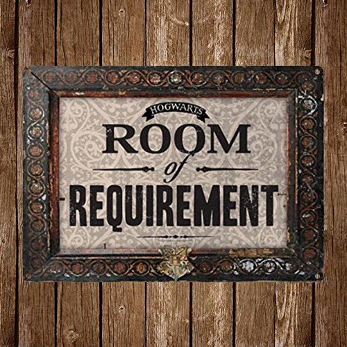 Harry Potter Hogwarts Room Of Requirement Small Tin Sign by Harry Potter