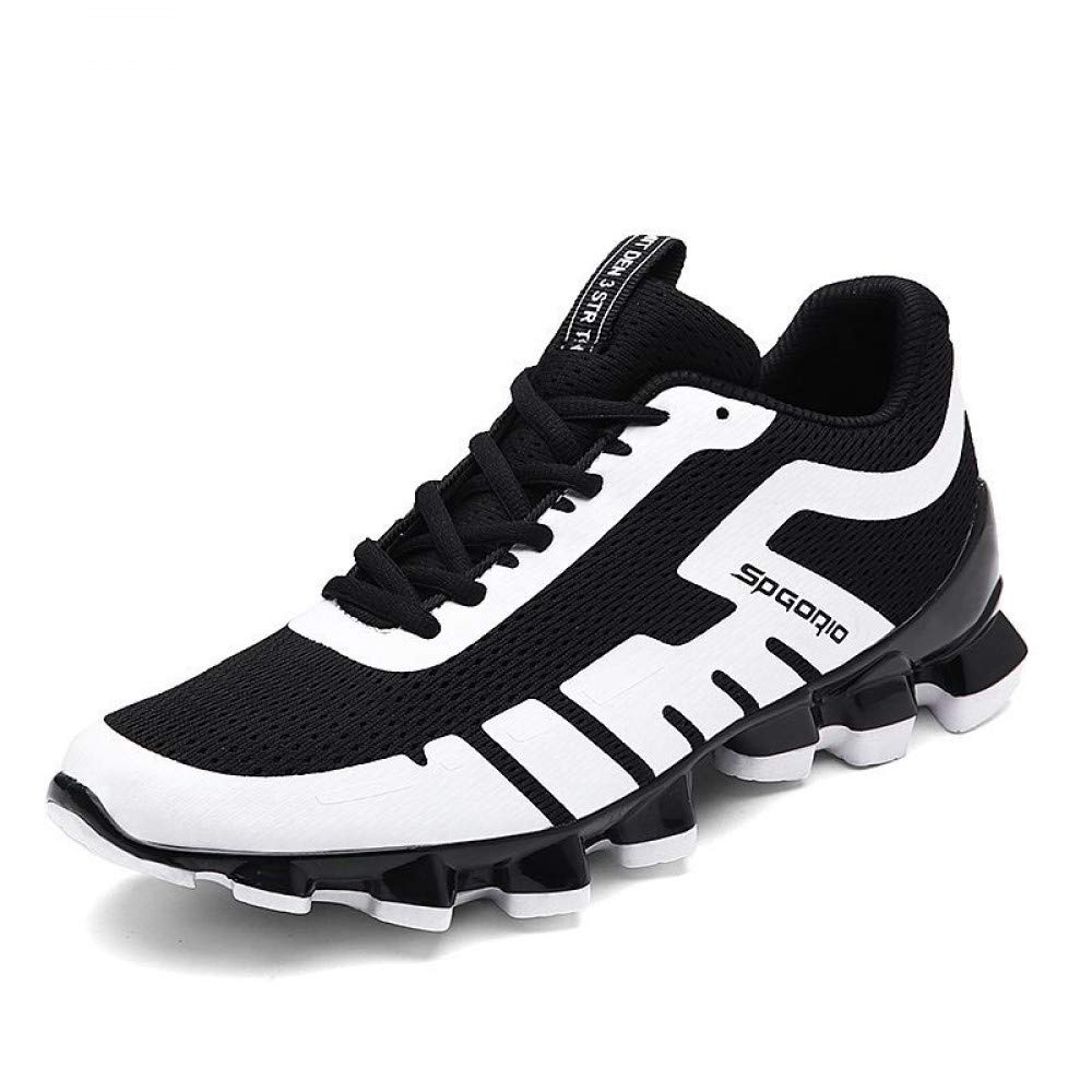 Hasag Chaussures white de Sport New Men's Running Shoes Respirant 43|B white Chaussures f95027