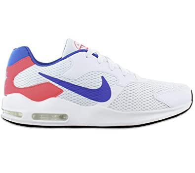 258060f41b9e ... reduced nike mens air max guile white ultramarine solar red 7d02d f6eff