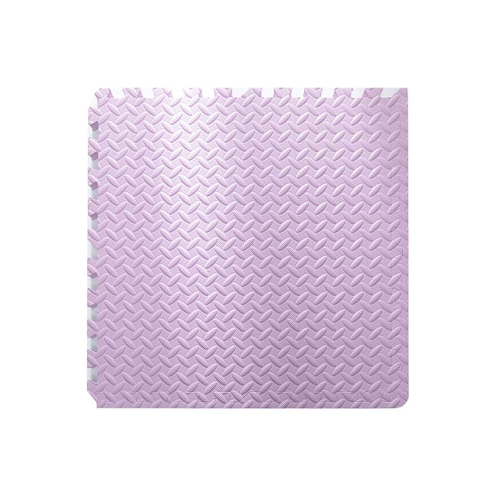 violet 30x30x2.5cm-10PCS YANGJUN Puzzle Tapis Mousse Bébé Antidérapant Résistant à l'usure Imperméable Prougeection Sol Isolation Yoga 2.5cm D'épaisseur (Couleur   bleu, Taille   60x60x2.5cm-12PCS)