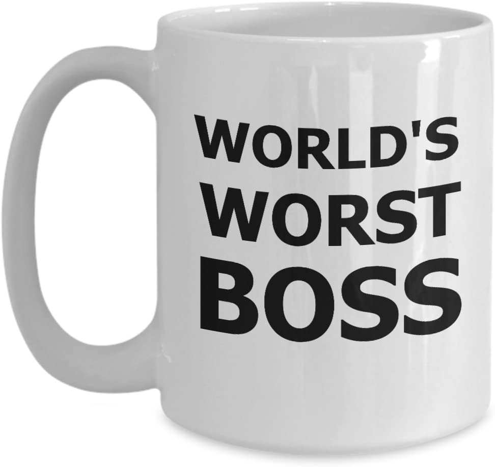 Mug World/'s Worst Boss White