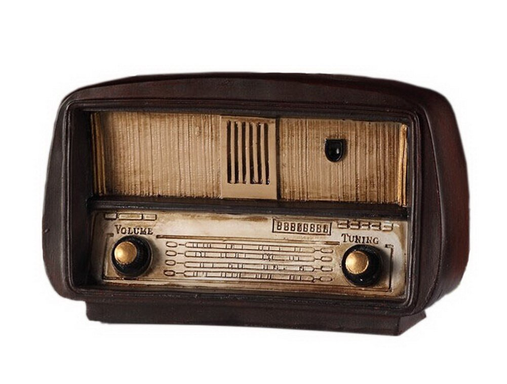 Retro do old vintage radio resin crafts Vintage Simulation Decoration PANDA SUPERSTORE PS-HOM15363411-FRANCIS00314