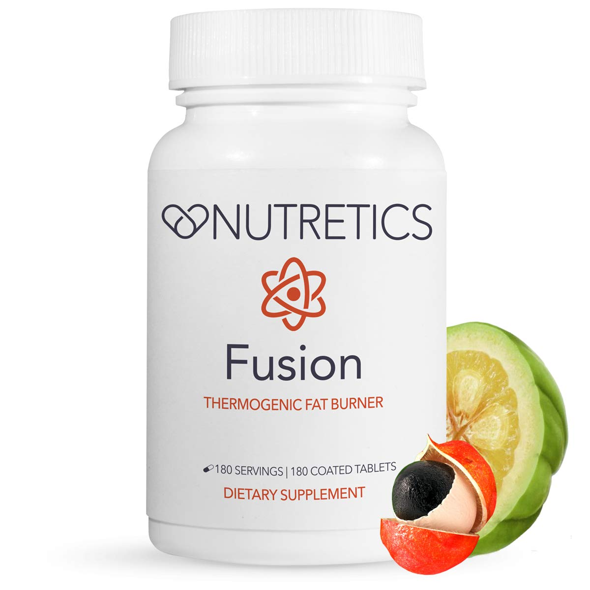 Nutretics Fusion Thermogenic Fat Burner for Men and Women, Weight Loss Supplement/Diet Pills for Fat Burning, Muscle Preservation, Boosted Metabolism, Clean Energy, Appetite Suppressant, 180 Tablets