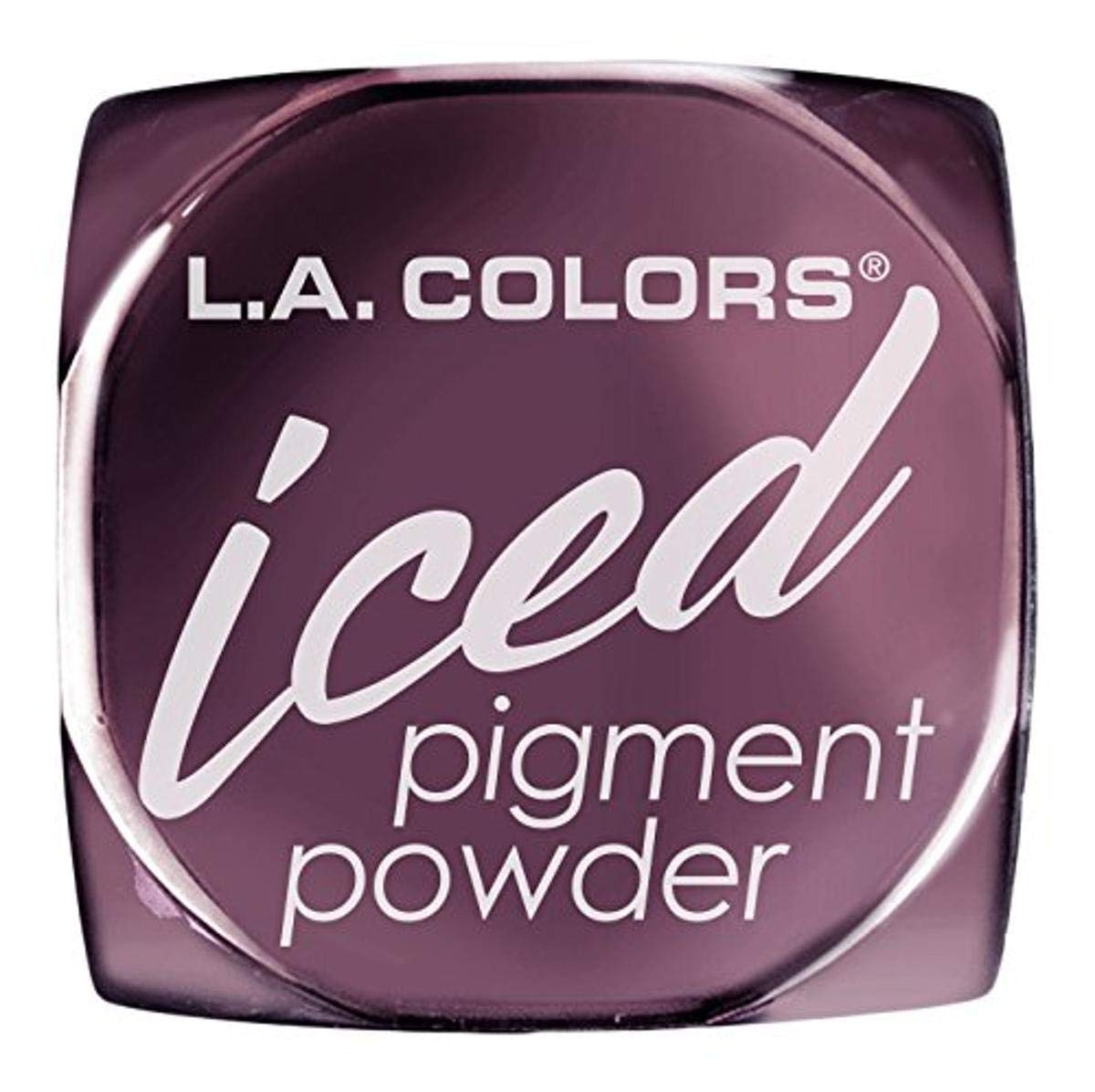 L.A. Colors Iced Pigment Powder, Glisten, 0.11 Ounce (Pack of 3)
