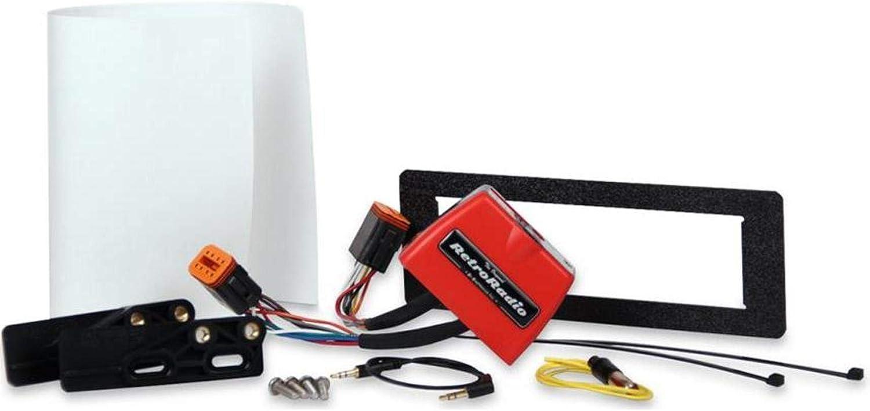 Sony MEX-M100BT Single Din Marine CD Player Radio Install Mount Kit Bluetooth