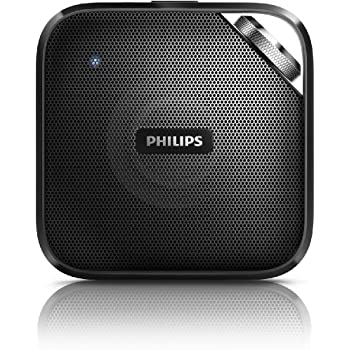Philips BT2500B/37 Compact Wireless Portable Bluetooth Speaker