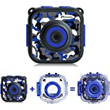 [NEW] DROGRACE Kids Camera Video Camera for Kids 1080P Camcorder Waterproof Action Cam Boys Girls Camera Toy Gift Built-in Game – Blue