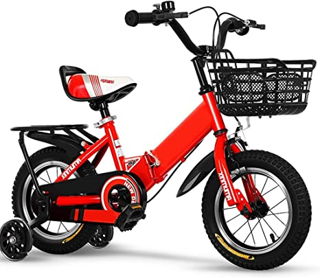 JINHH Bicicleta Niño De 2 Años Bicicleta 3-4-5-6 Años Niño Niña ...