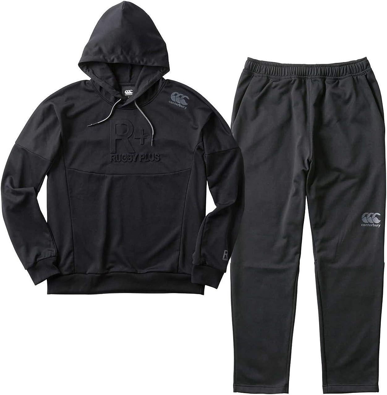 カンタベリー(canterbury) トレーニング スウェット フーディー&パンツ 上下セット(ブラック/ブラック) RP48531-19-RP18532-19 ブラック/ブラック M