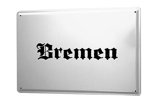 Cartel de chapa Placa metal tin sign Bemen Nombre de la ...