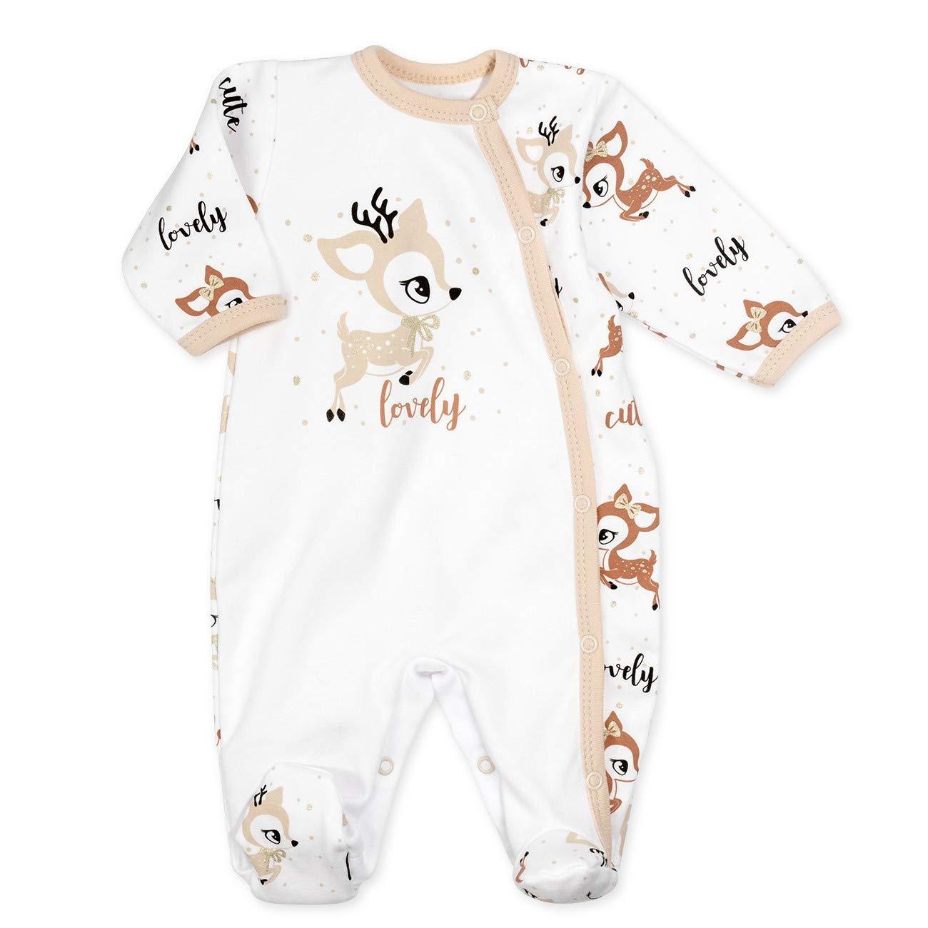 Baby Sweets Jungen Strampler Schlafanzug weiß grau hellblau Sweet Dreams