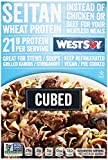Westsoy, Seitan Traditional Cubed, 8 Ounce