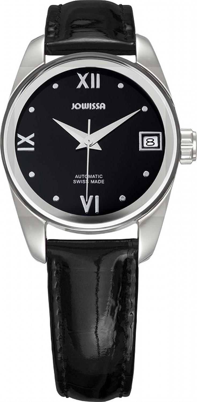 Jowissaレディースj4.053.m Monte Carloステンレススチールブラックダイヤル本革自動日付腕時計 B00AHKFJ68