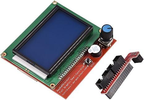 2018 RAMPS LCD Display Module Graphic Smart Controller 3D Printer Offline Print
