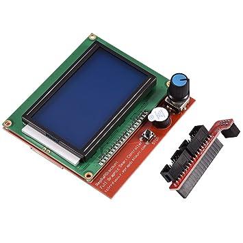 Richer-R 12864 Pantalla LCD Controlador de impresora 3D Monitor de ...