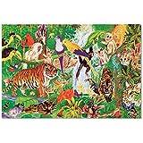 Melissa & Doug Rainforest Floor Puzzle (48 pcs, 2 x 3 feet)