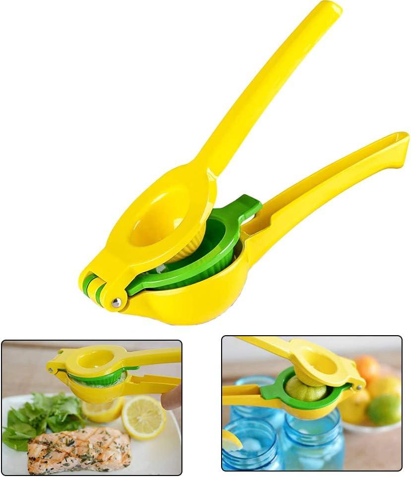 Quality Metal Lemon Lime Squeezer Easy To Clean No Pulp Safe Manual Juicers Manual Citrus Press Juicer Fruit Juicer Extractor Tool Portable Manual Juicer