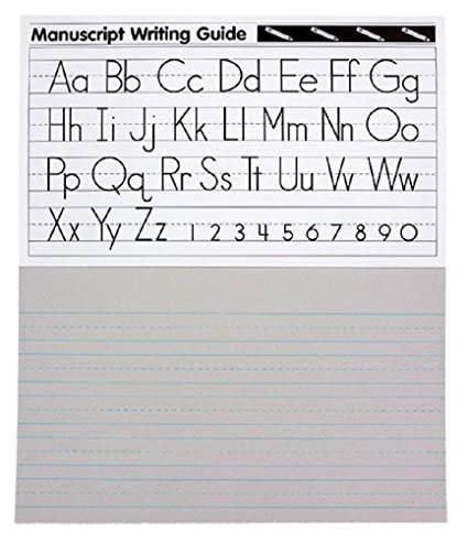 Manuscript Writing Paper Tablet - Preschool