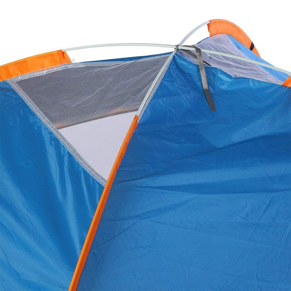 Jacksking Tente de Camping Tente de Camping Automatique portative imperm/éable Voyage ext/érieur r/ésistant aux UV pour 3-4 Personnes