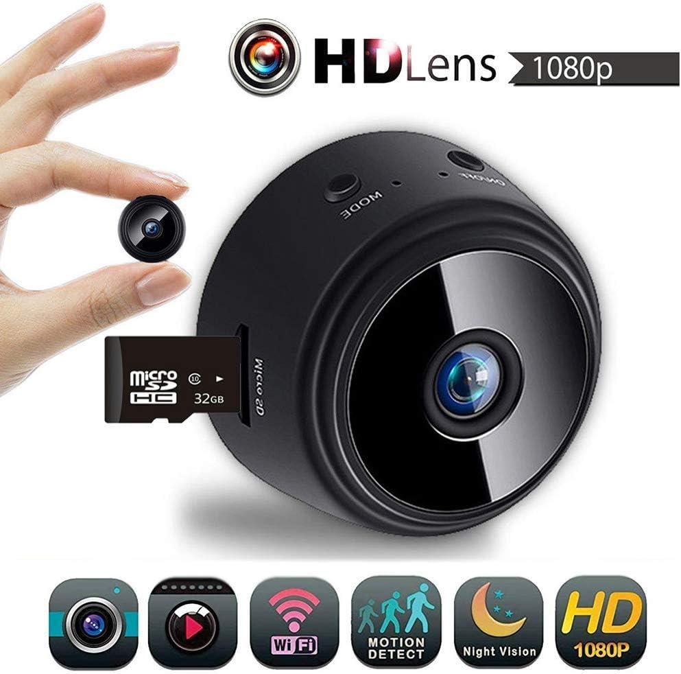 Aubess Mini cámara inalámbrica WiFi Oculta Spy CAM, HD 1080P ...