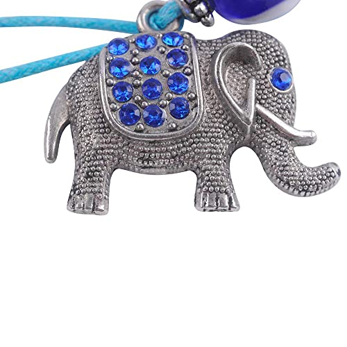 Amazon.com: YOULIAN 002NSP Llavero de elefante de la suerte ...