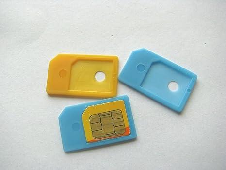 Amazon.com: etech 3 Pack microsim adaptador en al por menor ...