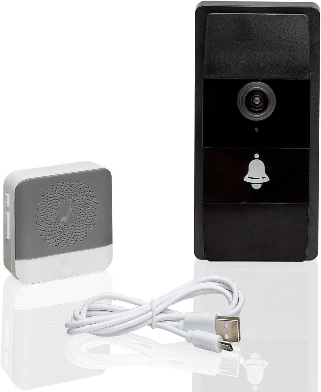 Safe2Home Video Türklingel WLAN Gegensprechanlage mit Kamera