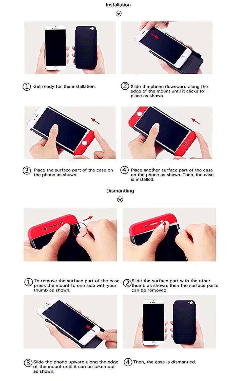 LsYun Funda S9 Compatible para Samsung Galaxy S9 Caja 360/°Protecci/ón Caso Bumper Antideslizante A Prueba de Golpes Regalo Pel/ícula de Vidrio Templado-Negro+Oro