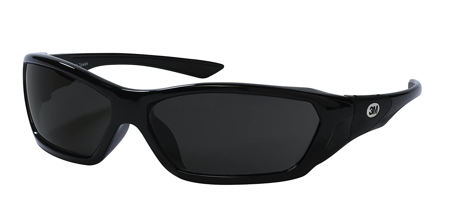 3M 92231-80025 ForceFlex Flexible Safety Eyewear with Gray Lens and Black Full Frame - Safety Glasses - Amazon.com