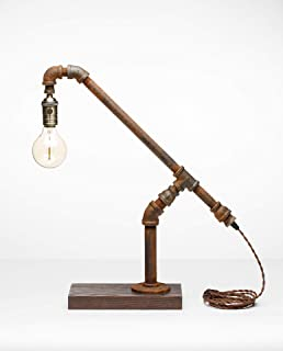 product image for Pipe Industrial Table-Top Desk Lamp Made in America (Sheffield Lamp)