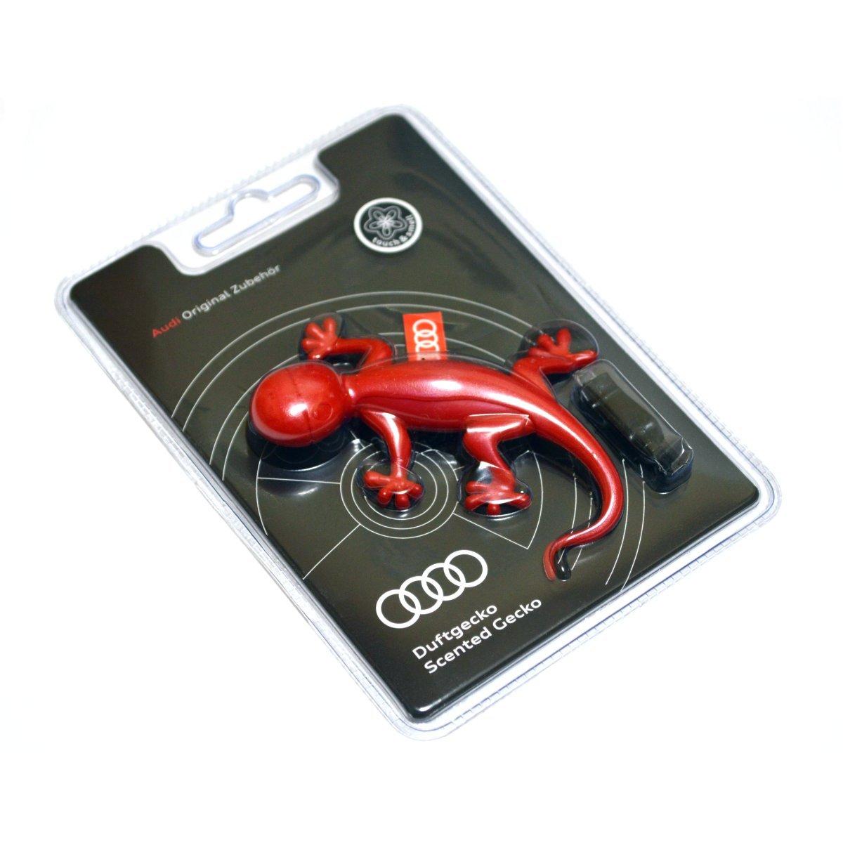 Original Audi 000087009B Gecko Air Freshener Red Floral Fragrance