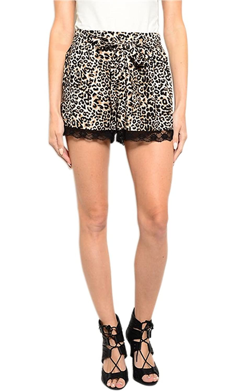 Hot sale 2017 have womens crochet leopard print shorts hubert hot sale 2017 have womens crochet leopard print shorts bankloansurffo Choice Image