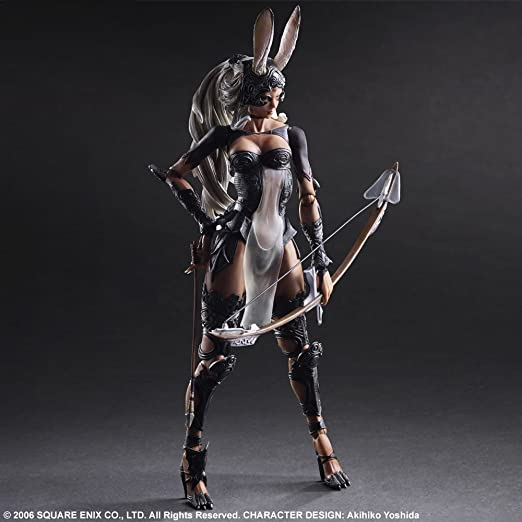 Final Fantasy XII Fran Action Figure Play Arts Kai Mdoel FF12 SQUARE ENIX In Box