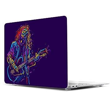 TwoL Ultra Delgado Funda Rígida Protector de Plástico para MacBook Air 11 11.6 Pulgadas Guitarrista