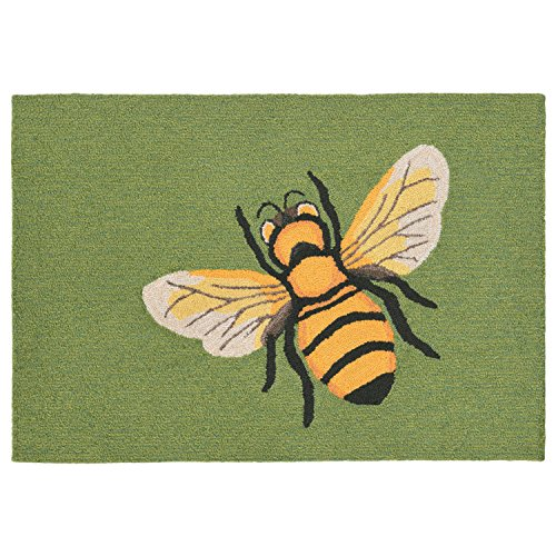"""Liora Manne FT134A95206 Whimsy Bumble Flight Rug, 30"""" x 4..."""
