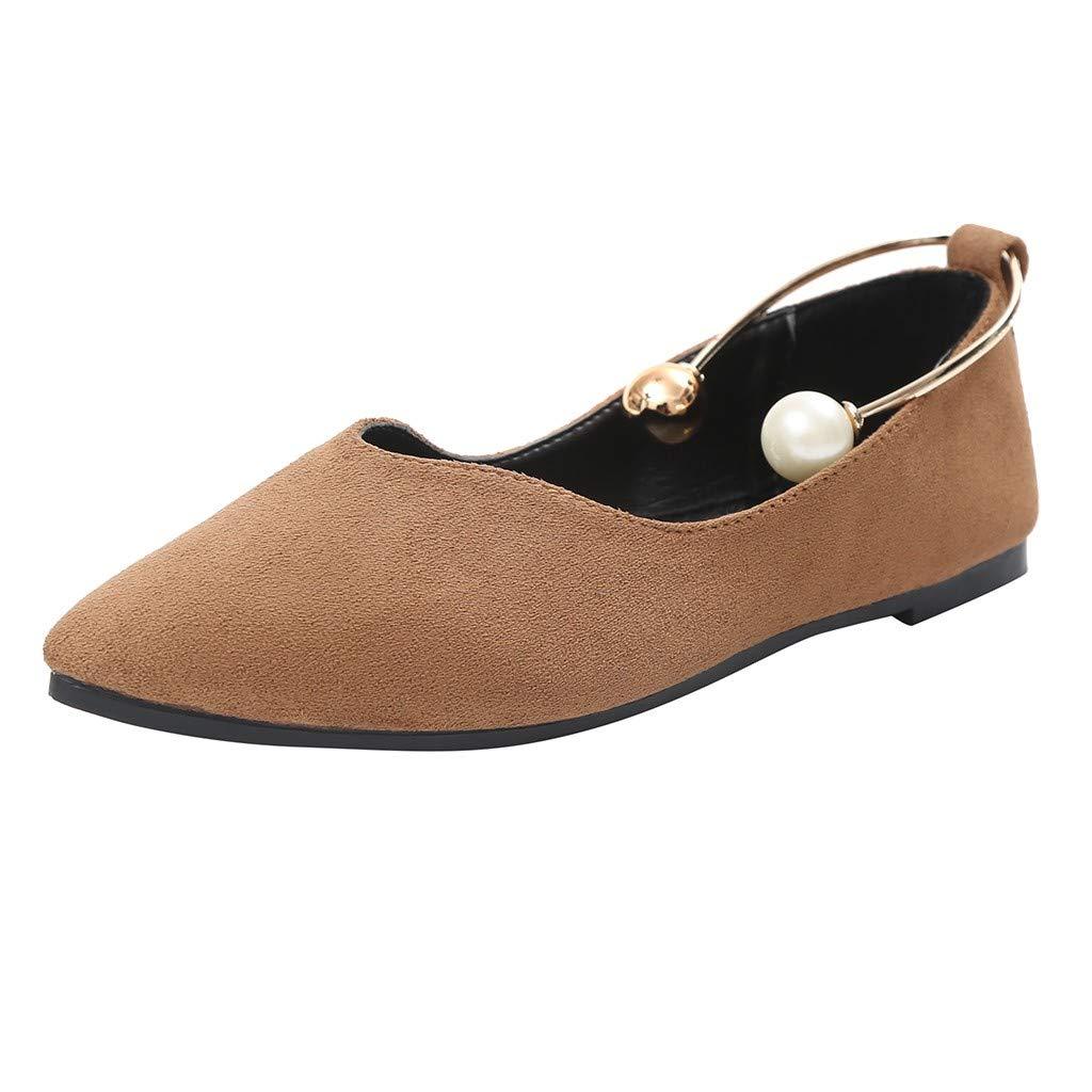 Darringls_Zapatos de Invierno Mujer,Zapatillas Puntiagudo Zapatos de tacón Alto Hebilla de Cuero: Amazon.es: Ropa y accesorios