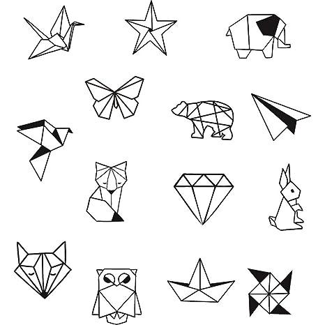 Aladine Stampo Bocal Origami Bocal En Verre Dessin