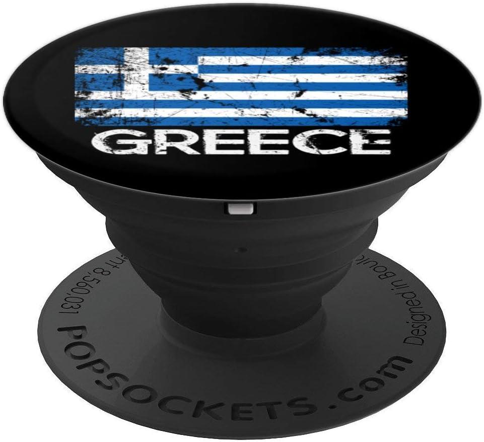 Greek Flag Design | Vintage Made In Greece Gift