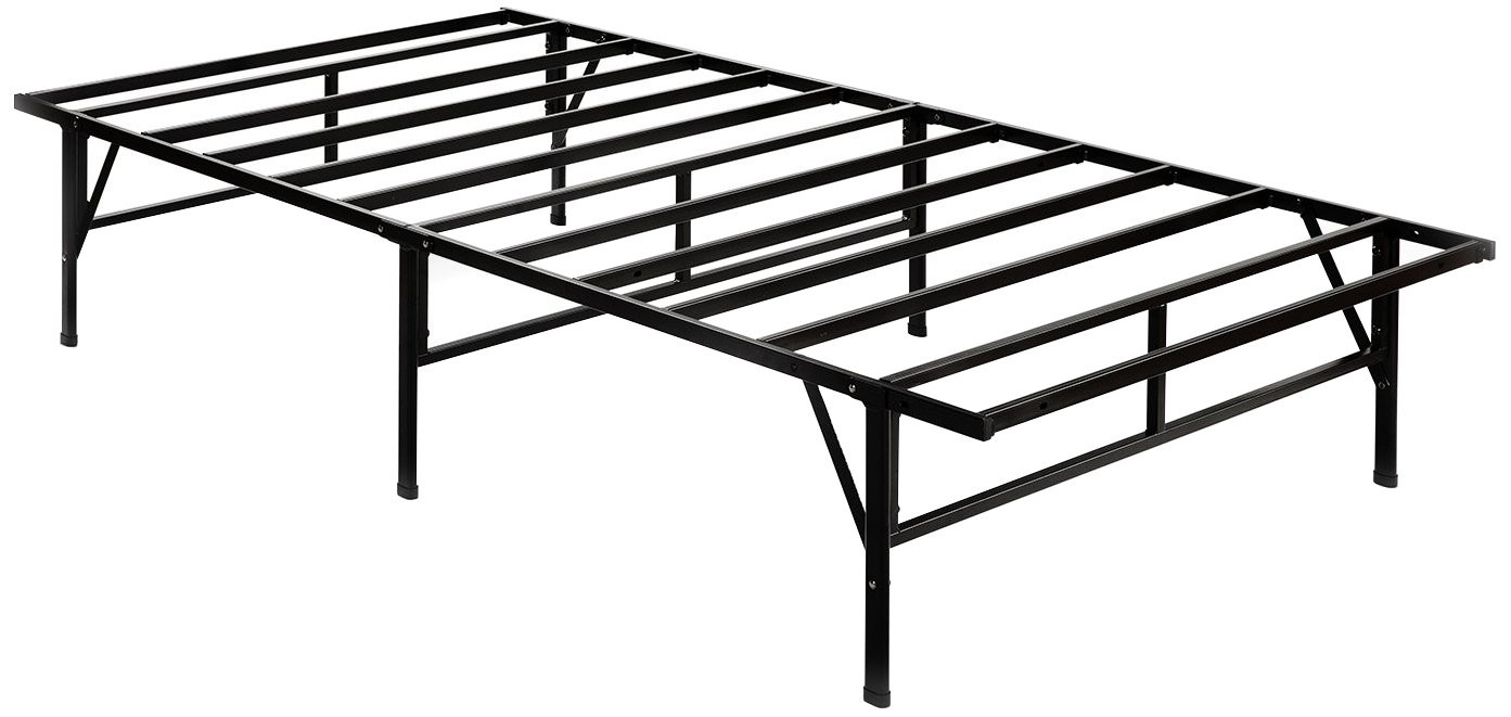 Zinus Dawn 14 Inch Easy To Assemble SmartBase Mattress Foundation / Platform Bed Frame / Box Spring Replacement, Twin