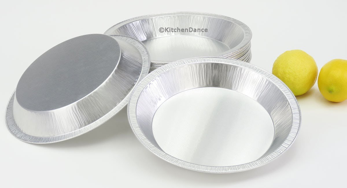 Disposable/Reusable Heavy Duty Aluminum 9'' Pie Pans #922- 24 oz Capacity (200) by Chief (Image #7)