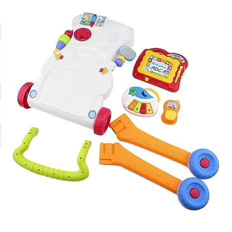 Andador para niños pequeño multifuncional Andador sentado con ...
