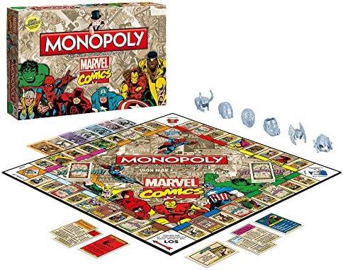 Monopoly Marvel Comics Retro: Amazon.es: Libros en idiomas extranjeros