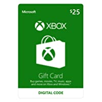 Deals on $25 Microsoft Xbox Gift Card Email Delivery