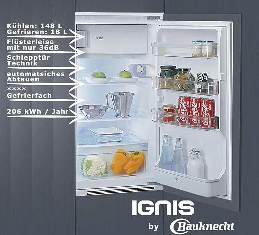 Ignis ARL 393 a + Instalación De Frigorífico con congelador/102 cm ...