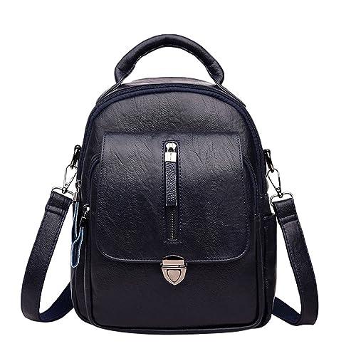 Xinwcang Mochilas Bolso Mujer Mochila Escolar Casual Backpacks Colegio Bolsos Chicas Mochilas Impermeable para Viaje Bolsa Moda Escuela Niña Azul Oscuro: ...